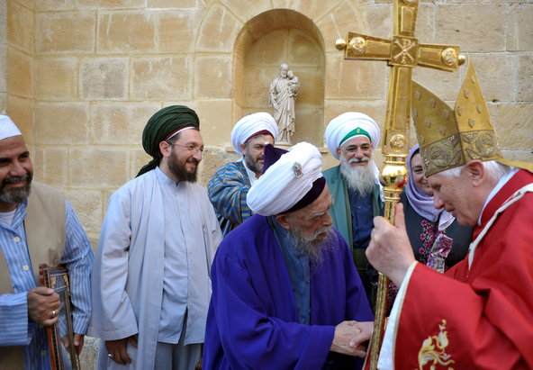 Muslim clerics greeted Benedict XVI during his 2010 visit to Cyprus ...
