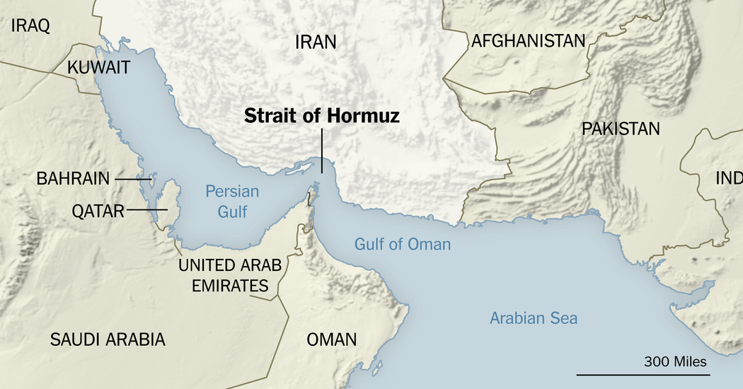 Strait of Hormuz Once Again at Center of U.S.-Iran Strife ...