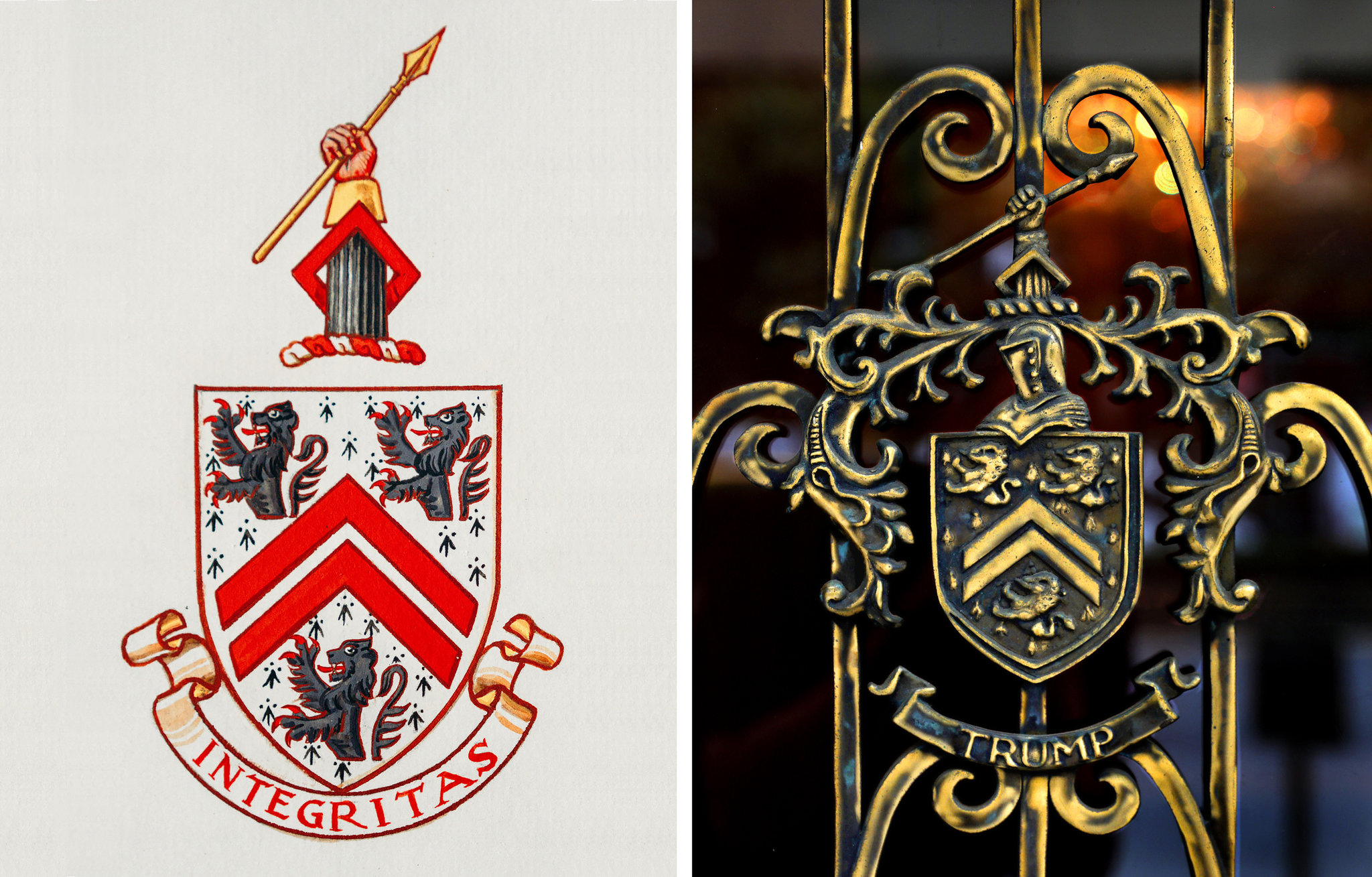 The Coat of Arms Said 'Integrity.' Now It Says 'Trump.' - The ...