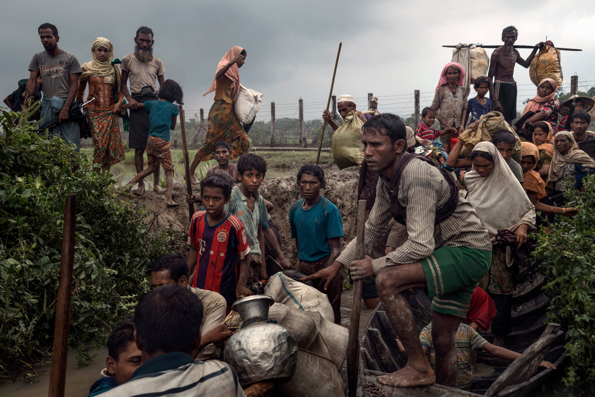 Myanmar Follows Global Pattern in How Ethnic Cleansing ...