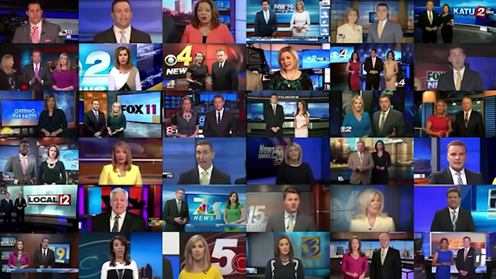 Sinclair Made Dozens of Local News Anchors Recite the Same Script - The New York Times