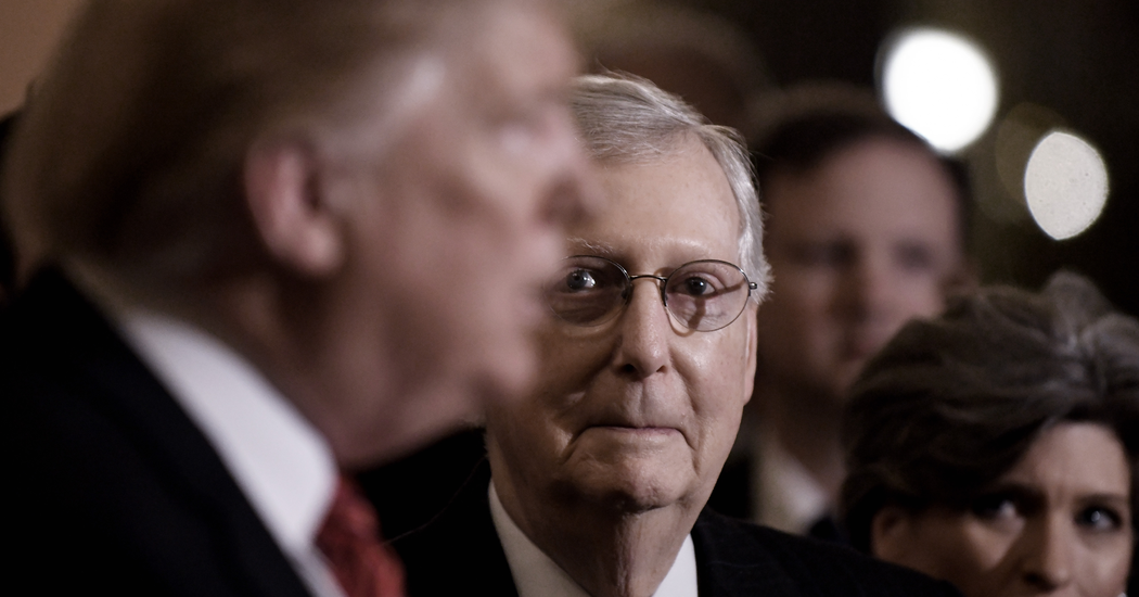 Trump Slams Dem Coronavirus Bill Over 'Unrelated Goodies'; McConnell Calls It An 'Ideological Wish List'…