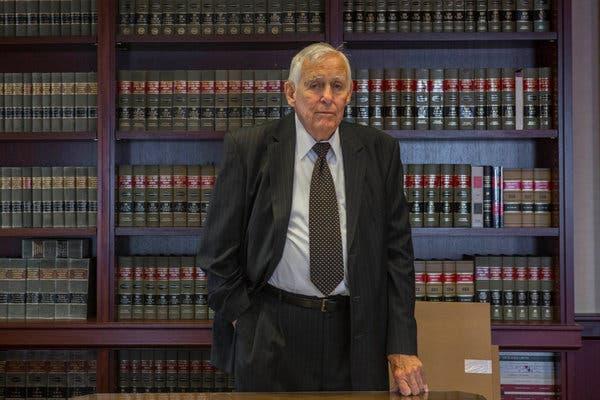 Manhattan federal judge Kevin Thomas Duffy dead of coronavirus…