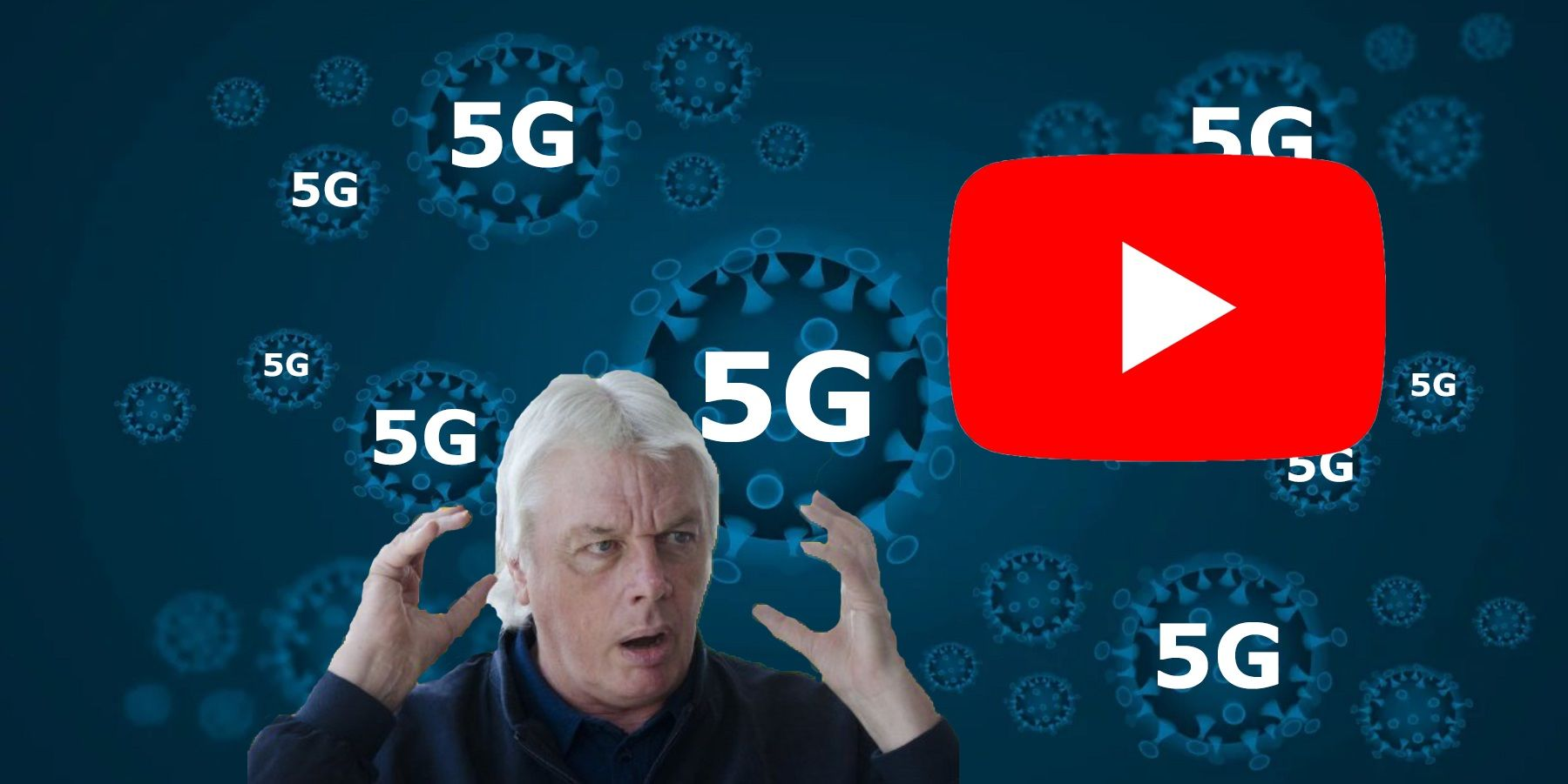 YouTube, David Icke Channel Deletion, & 5G Caused COVID-19 ...