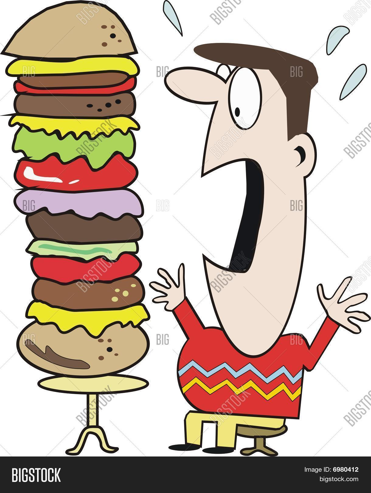 Funny Fast Food Vector & Photo (Free Trial) | Bigstock