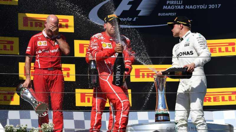Podium F1