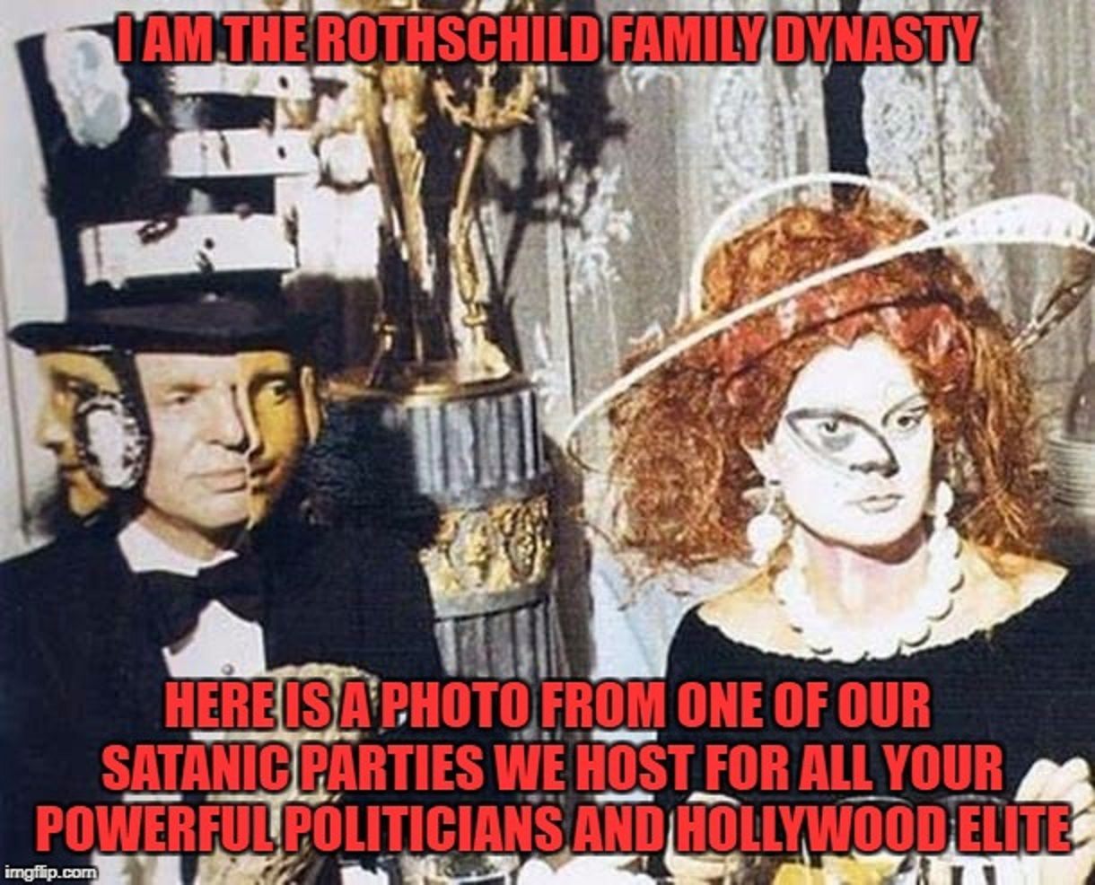 The Great Satanic Conspiracy Of The Rothschild Family ...
