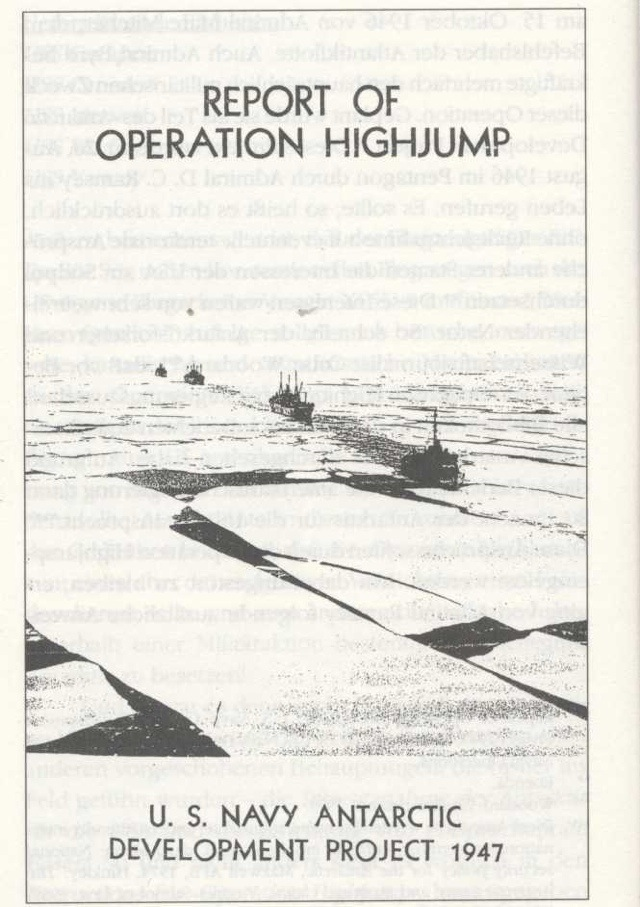 Operation Highjump Photographs: Spacecraft and Bases in ...