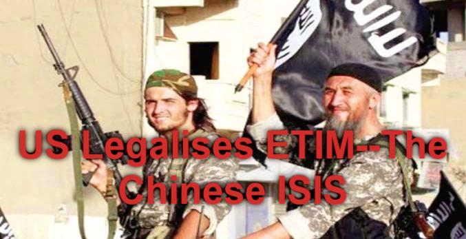 US blatantly legalises jihadist Uyghur terrorists..the ...