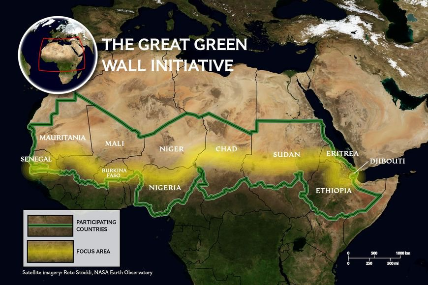 China to help build Africa's 'Great Green Wall'