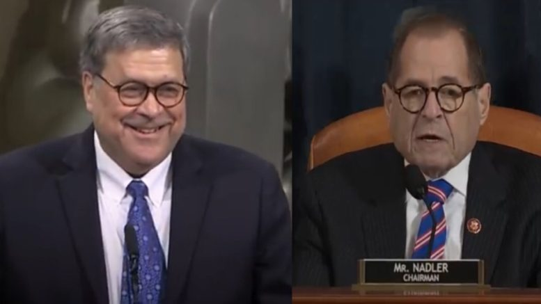 Barr to testify in House oversight hearing next month…