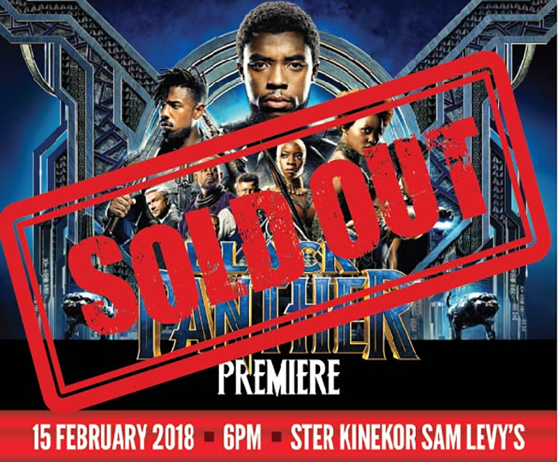 Black Panther Tickets Get Sold Out! - Techzim