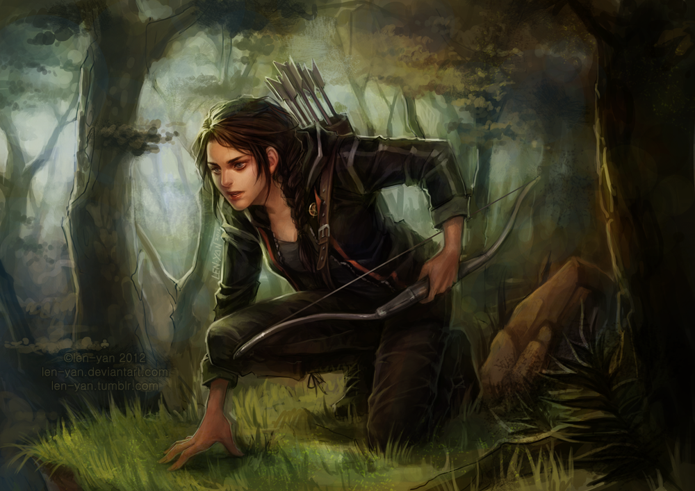 Fan Art: Hunger Games (Katniss Everdeen) | teenfictionbooks