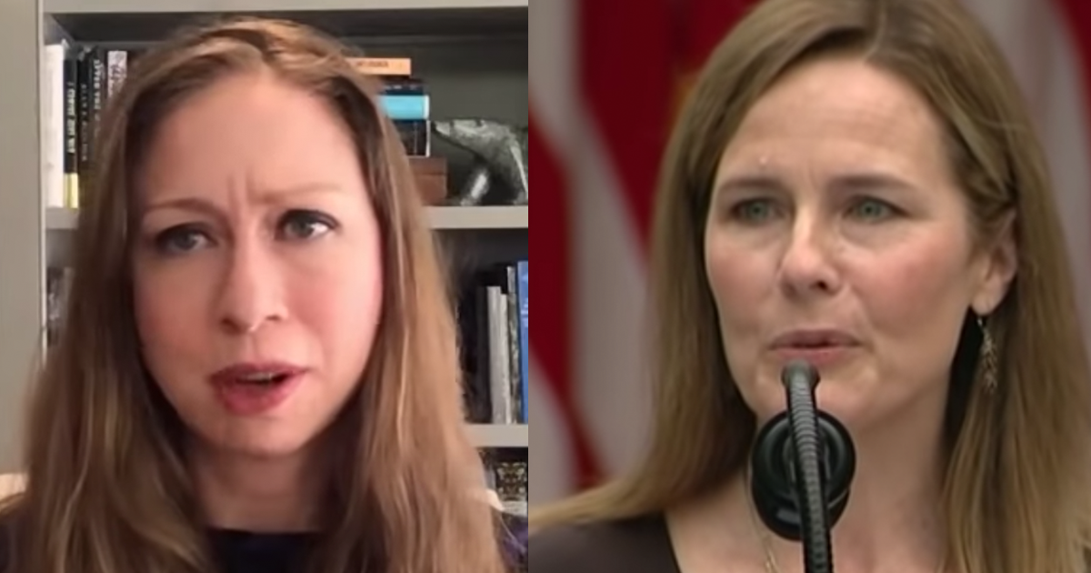 "Chelsea Clinton declares ""Amy Coney Barrett Does Not ..."