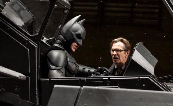 Gary Oldman (Commissioner Gordon) In The Dark Knight Rises ...