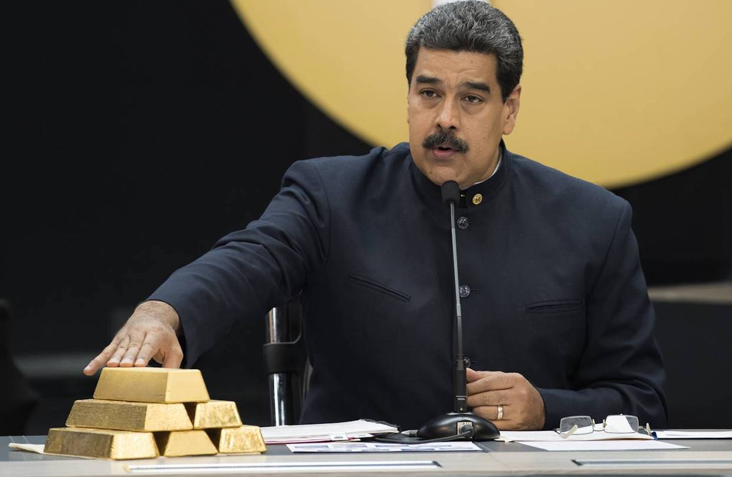 Venezuela's rival presidents prepare to battle over gold in London vaults…