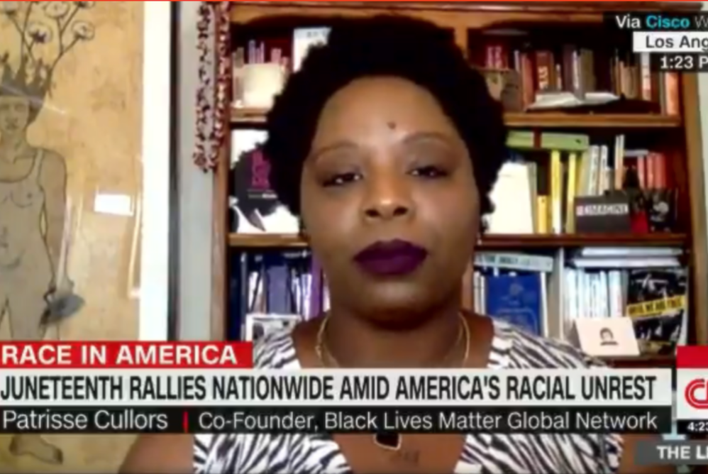 BLM Co-Founder Appears To Violate IRS Laws On CNN…