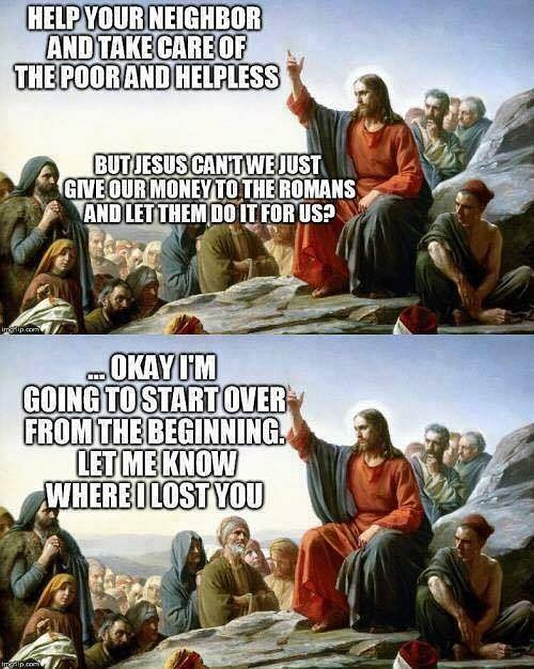Meme Exposes Why Christians Should Not Support ...