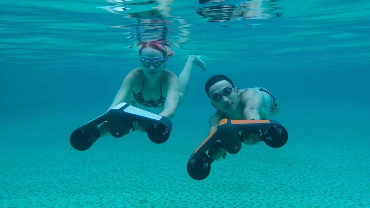 Geneinno S1 integrated underwater scooter lets you explore ...
