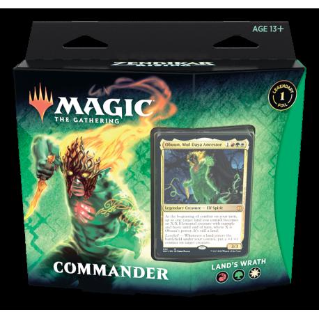 Zendikar Rising - Commander Deck - Land's Wrath - The Mana ...