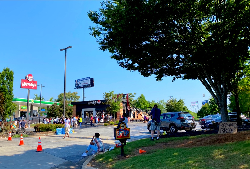 New CHOP starts in Atlanta Wendy's, rioters back gun rights and border control. The scene of the Brooks shooting is now off limits to police…