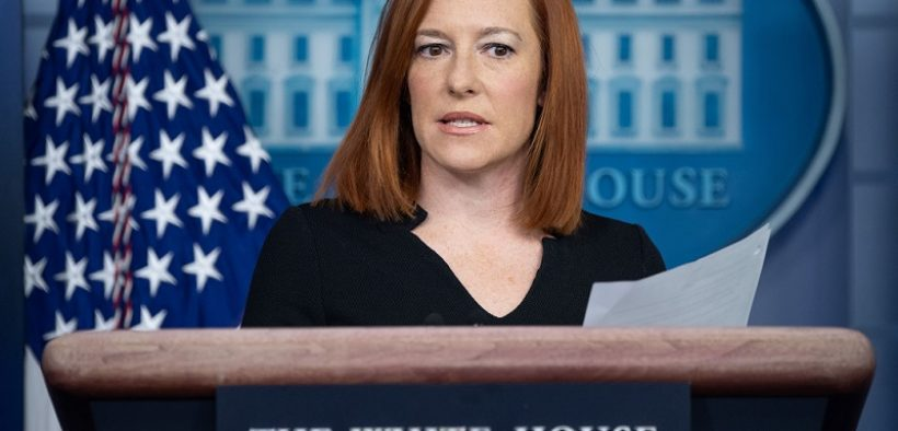 Jen Psaki Blasts Florida and Texas for Opposing Federal Vaccine Mandate