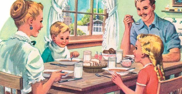 Dinner is Served, 1950's Style - The Vintage Housewife