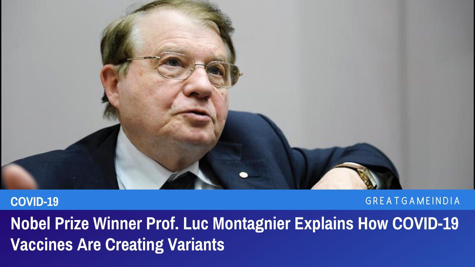 Nobel Prize Winner French Virologist Luc Montagnier ...