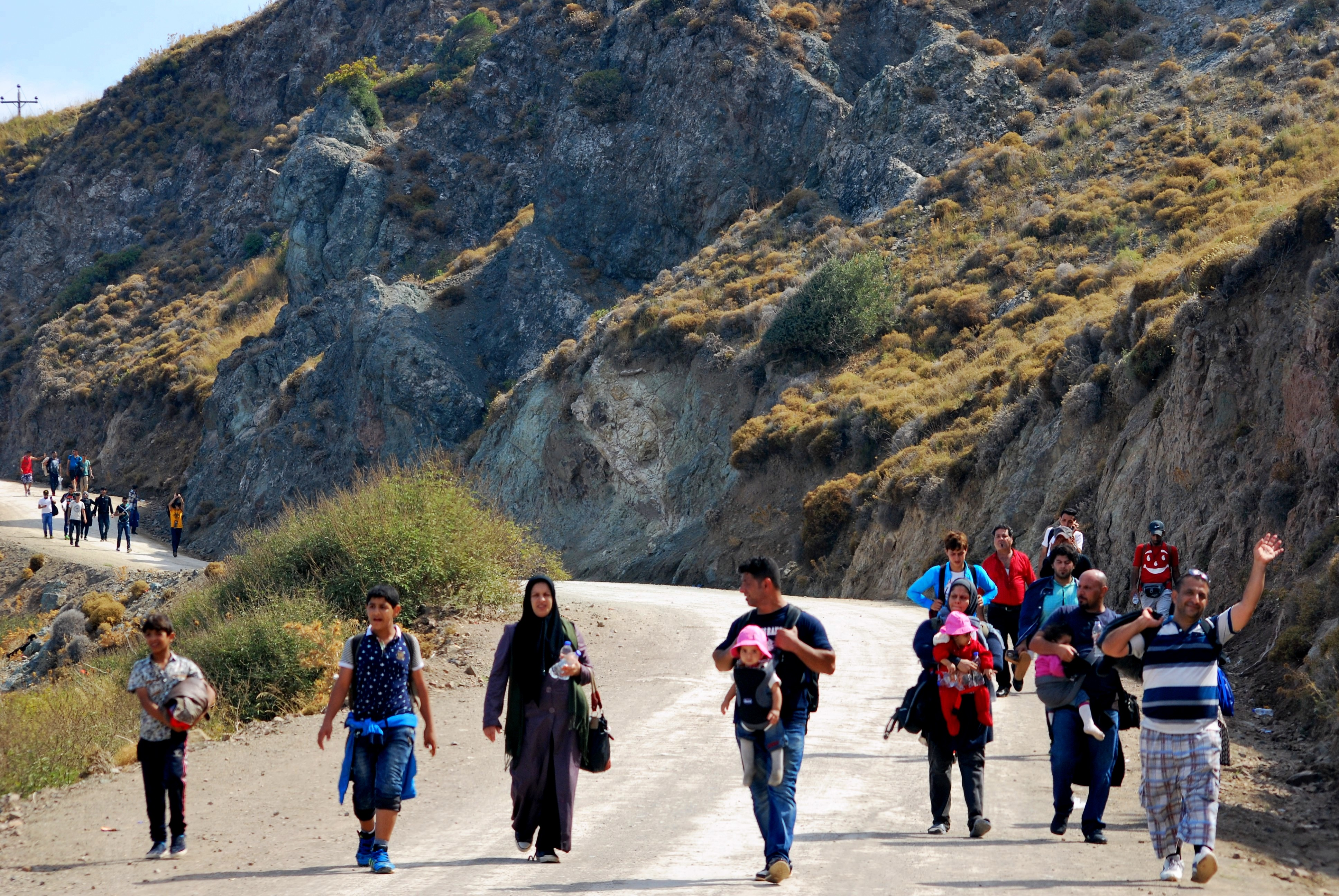 The Refugee Crisis in Lesbos, Greece: A Story of ...