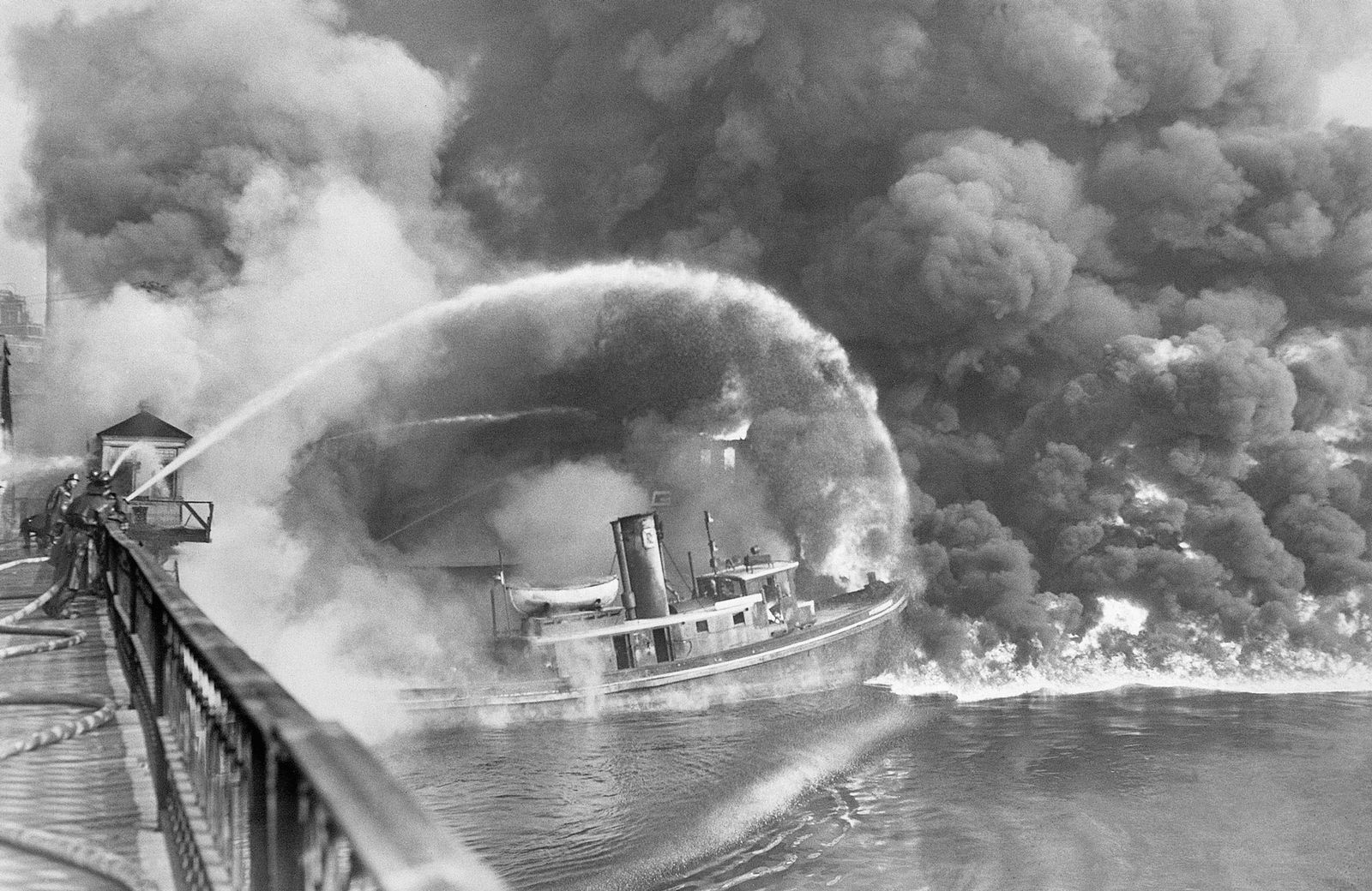 The Cuyahoga River Caught Fire at Least a Dozen Times, but No One Cared Until 1969 | History ...