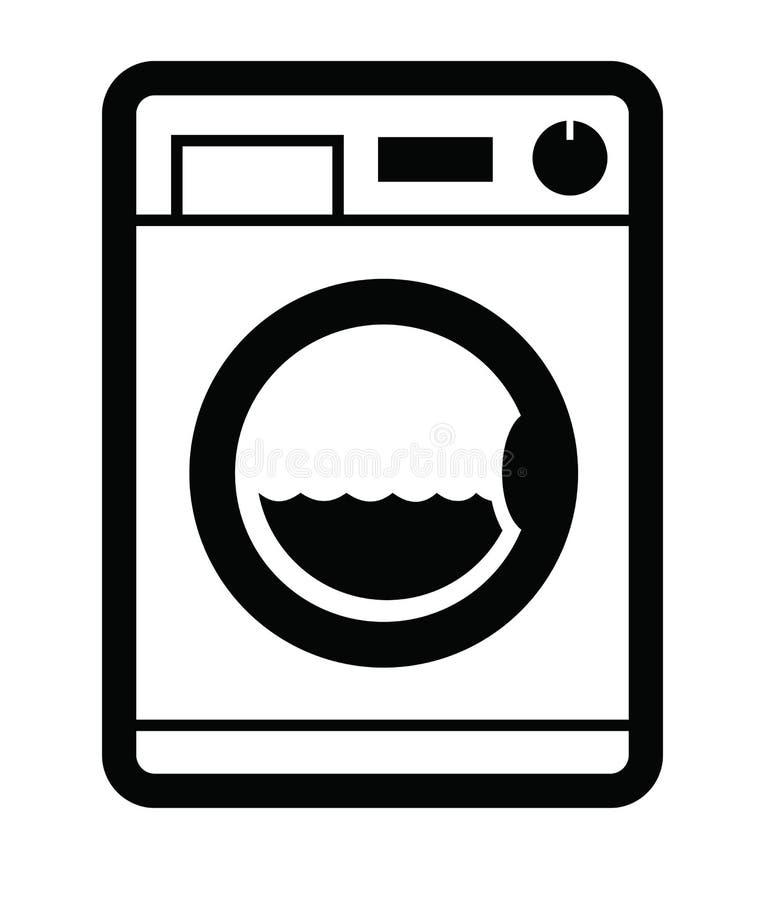 Icona della lavatrice illustrazione vettoriale ...
