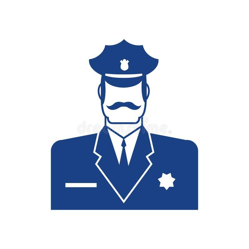 L'ufficiale Di Polizia Emoji Arrabbiato Ha Isolato Emotio ...