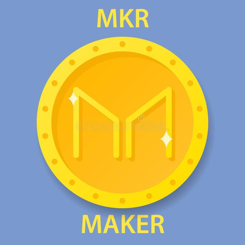 Vector Maker MKR logo stock vector. Illustration of ...
