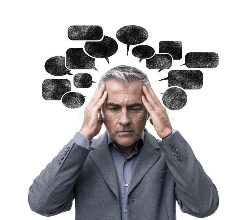Negative Thoughts Stock Images - Download 1,253 Royalty ...