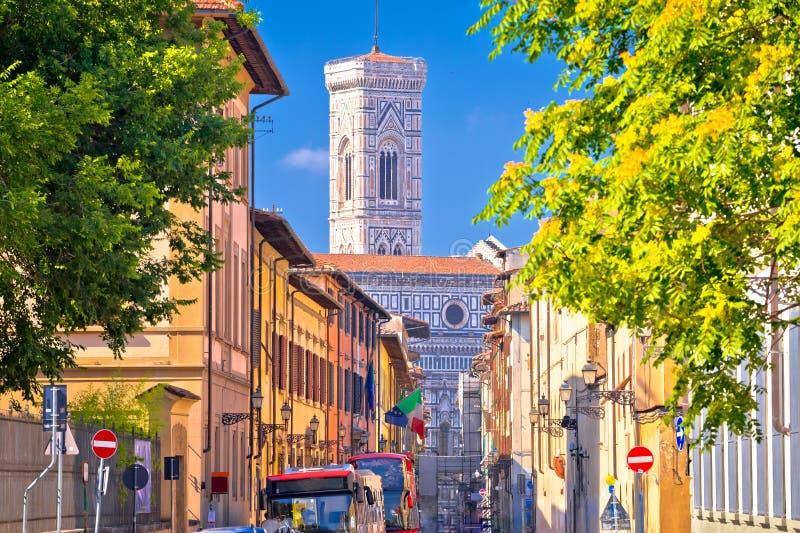 Firenze, Vista Del Campanile Di Giotto E Del Duomo ...