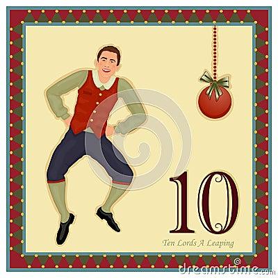 The 12 Days Of Christmas Stock Image - Image: 17186411
