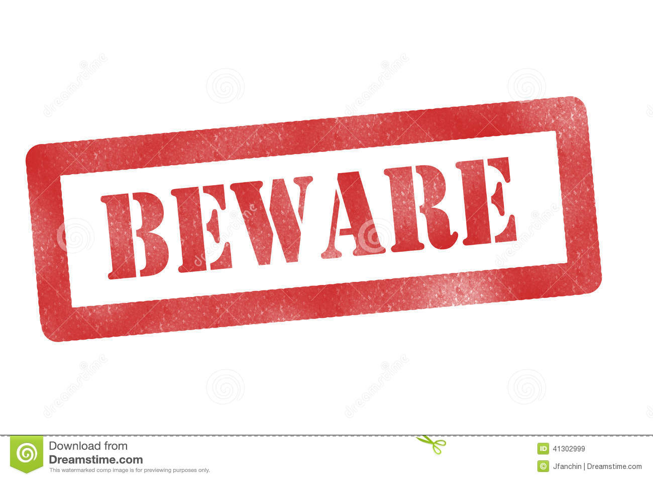 Beware sign stock illustration. Image of construction ...