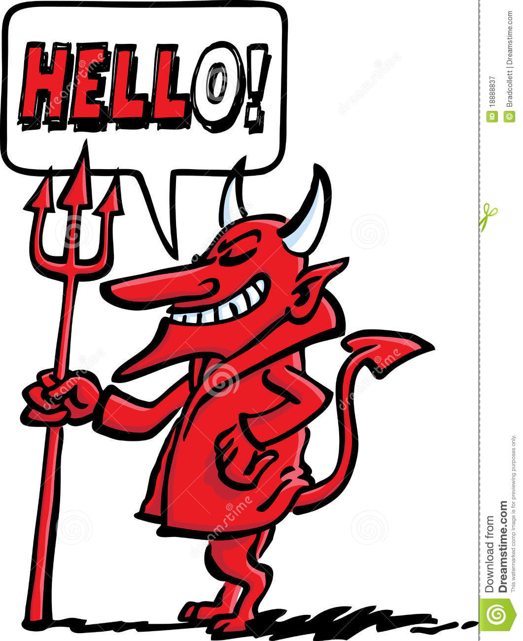 Devil's Welcome Royalty Free Stock Photography - Image ...