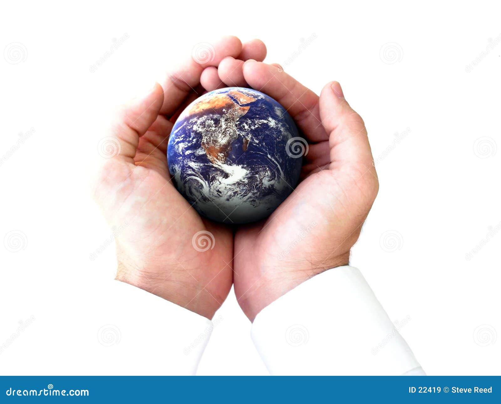 Die Ganze Welt In Meinen Händen Stockbild - Bild von ...