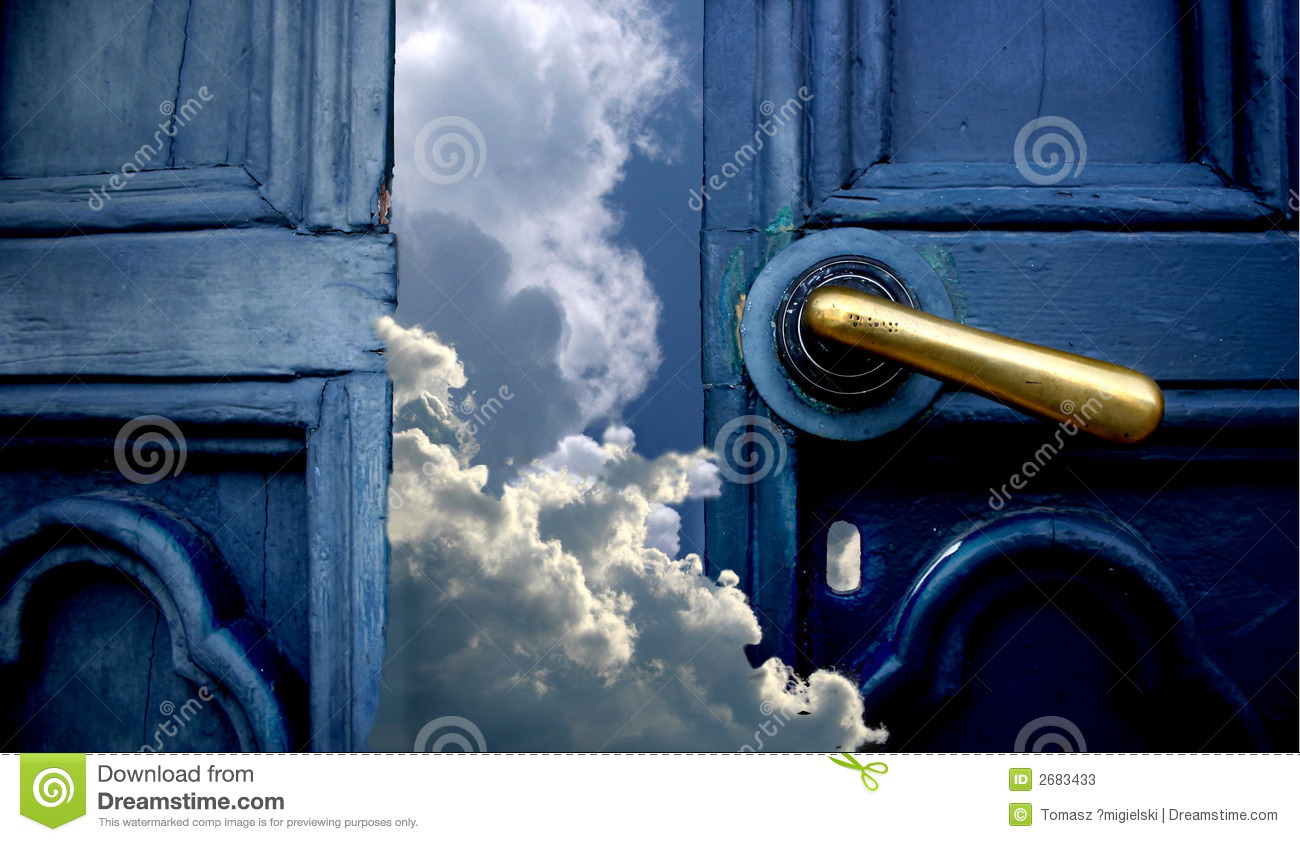 Door to heaven stock image. Image of atmosphere, forecast ...