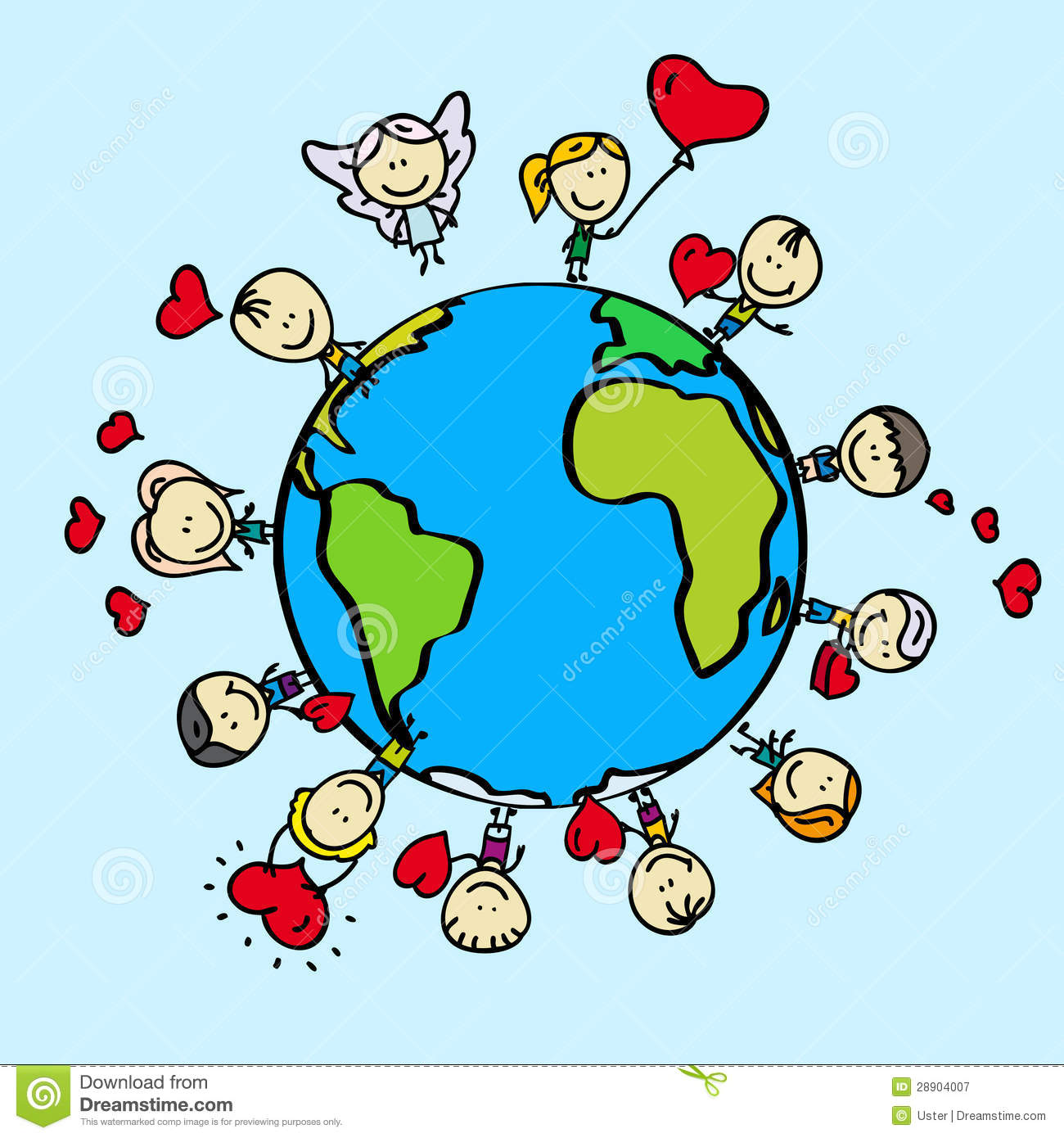 Love Earth Royalty Free Stock Photography - Image: 28904007