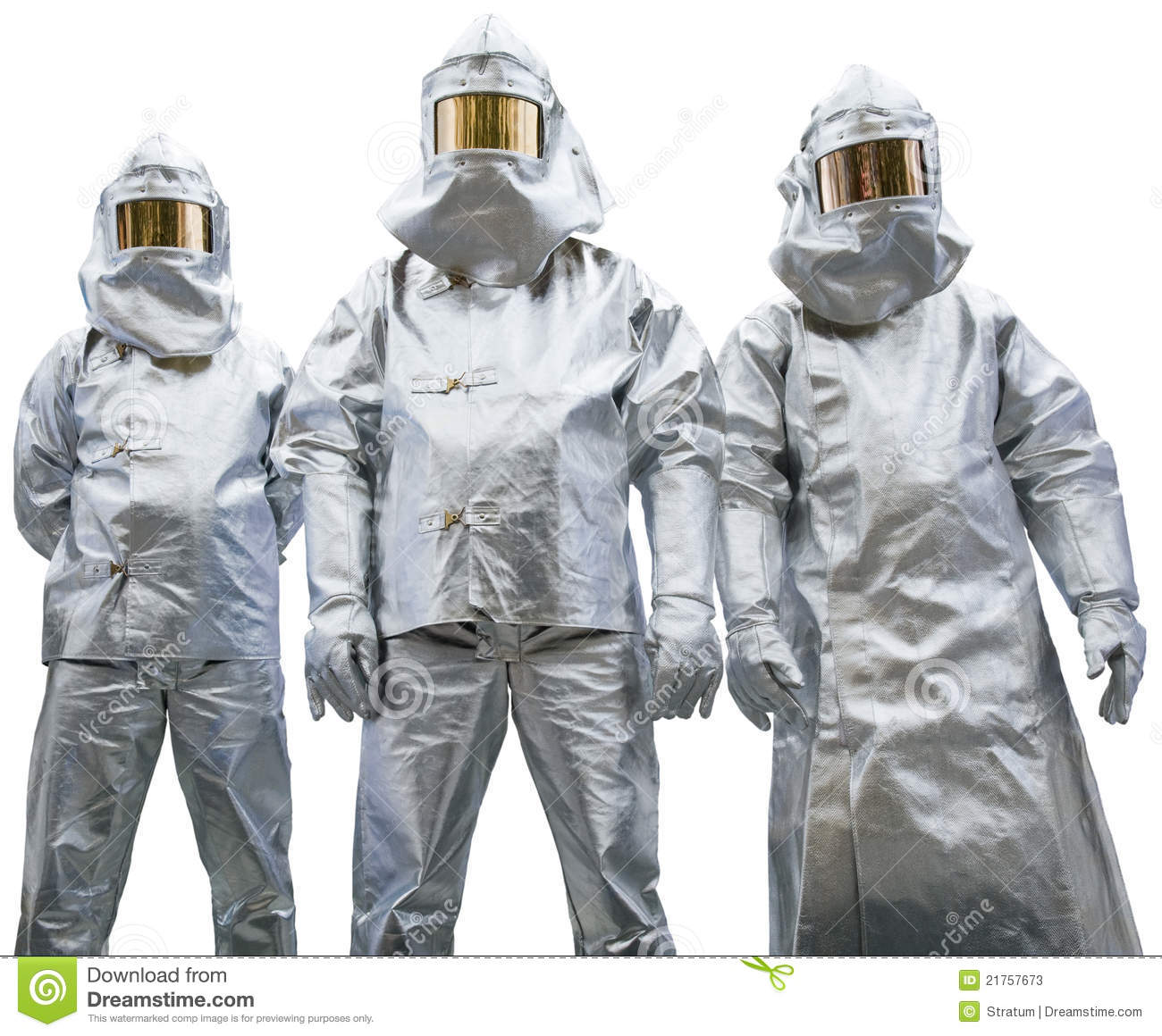 Three Workers In Protective Clothing Stock Photos - Image ...