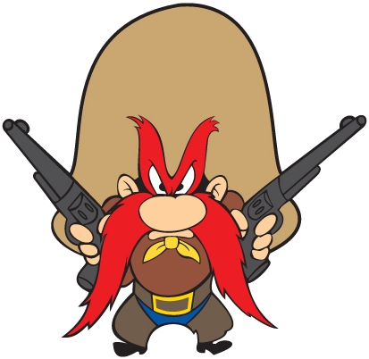 What if Yosemite Sam were a Transformer? Can't imagine why ...