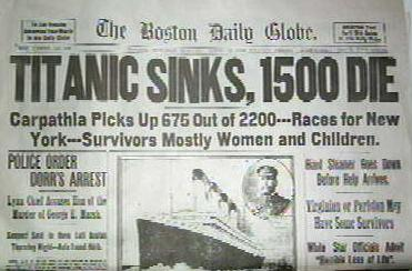 The RMS Titanic and it's passengers | Just another ...