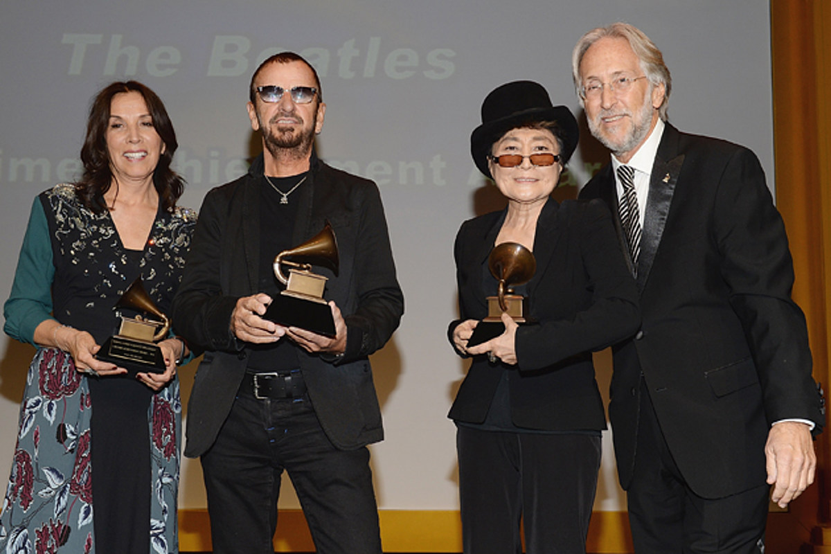 The Beatles Presented with Grammy Lifetime Achievement Award
