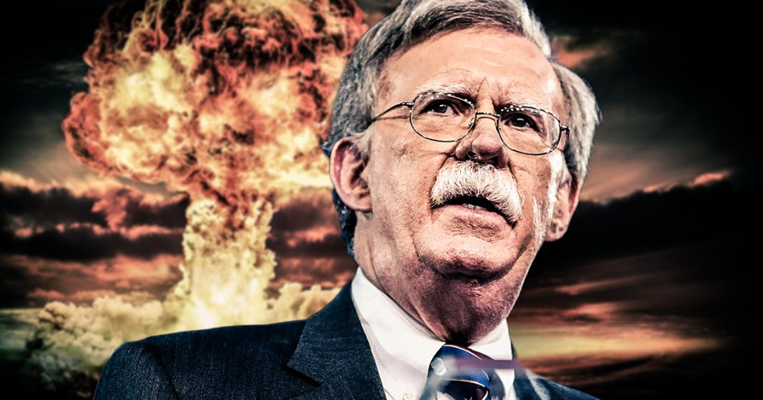 Coronavirus Coincidence: John Bolton Used to Be Coordinator for US Biodefense…