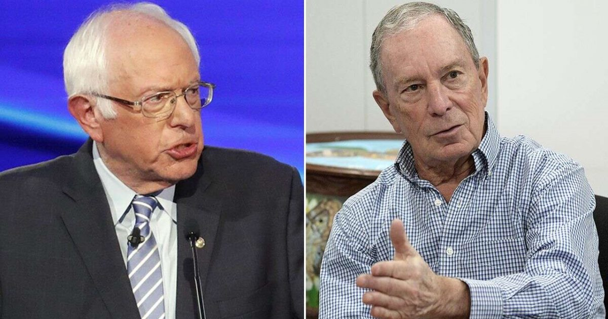Bloomberg says he hopes Sanders changes…