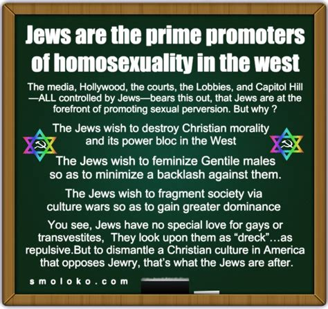 Jews are dangerous - Page 737 - Stormfront