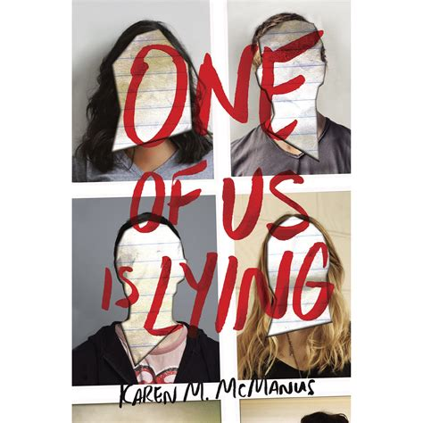 One of Us Is Lying by Karen M. McManus — Reviews, Discussion, Bookclubs, Lists