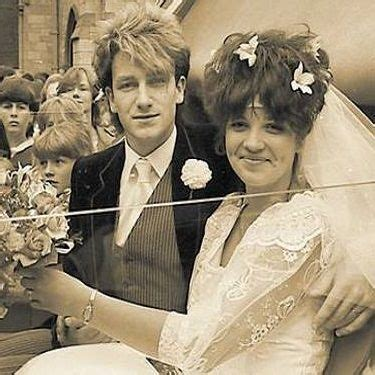 Today in 1982, U2 singer Bono married Alison Stewart, his ...